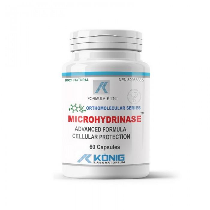 Microhidrinaza (60 capsule), Konig Laboratorium