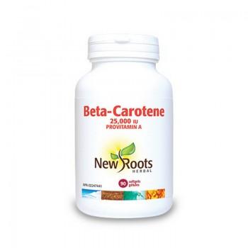 Beta Caroten Forte 25.000 UI (90 capsule), New Roots