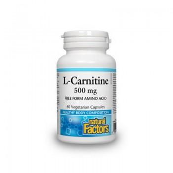 L-Carnitina 500 mg (60 capsule), Natural Factors