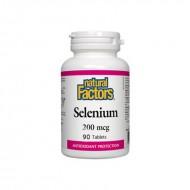 Seleniu Forte 200 mcg (90 tablete), Natural Factors