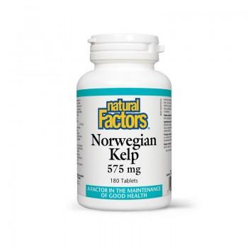 Alge marine norvegiene 575 mg (180 tablete), Natural Factors