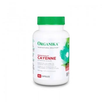 Cayenne 100 mg (90 capsule), Organika Canada