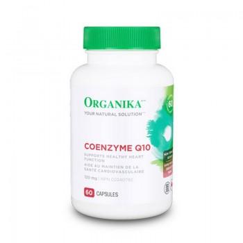 Coenzima Q-10 120 mg (60 capsule), Organika Canada