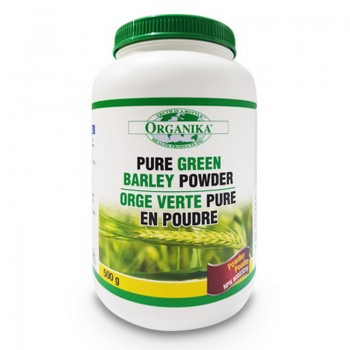 Pure Green Barley Extract din suc de orz verde pulbere (500 grame), Organika Canada