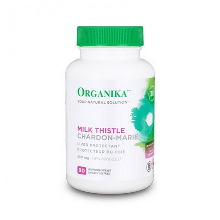 Milk Thistle Silimarina 250 mg (90 capsule), Organika Canada
