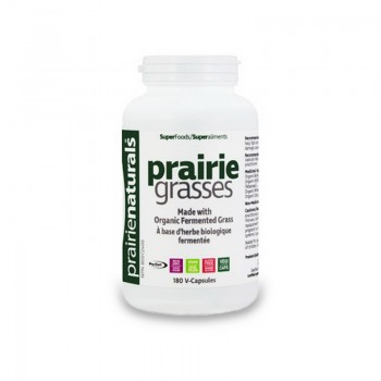 Prairie Grasses Ierburi de preerie fermentate (180 capsule), Prairie Naturals