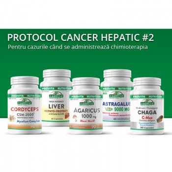 Protocol cancer hepatic (de ficat) 2, Provita Nutrition