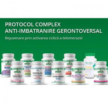 Protocol complex anti-imbatranire Gerontoversal, Provita Nutrition