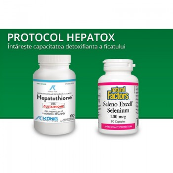 Protocol Hepatox procedura detoxificare hepatica, Provita Nutrition