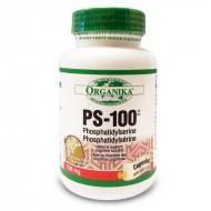 PS-100 Forte Fosfatidilserina 100 mg (60 capsule), Organika Canada