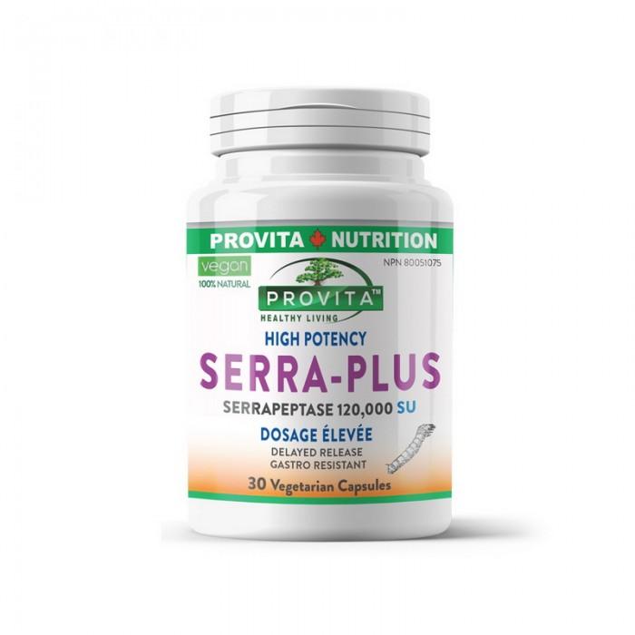 Serra Plus Serapeptaza Forte (30 capsule), Provita Nutrition