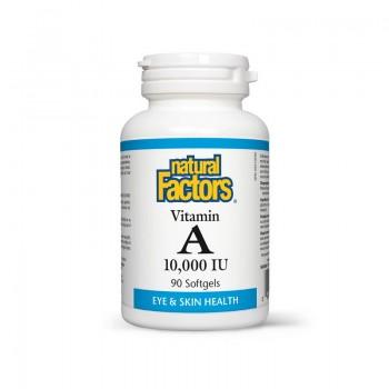 Vitamina A 10.000 UI (90 capsule), Provita Nutrition