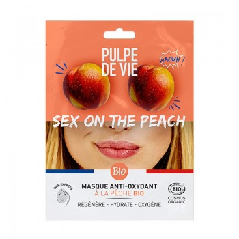 Masca antioxidanta si revitalizanta Sex on the Peach, Pulpe de Vie