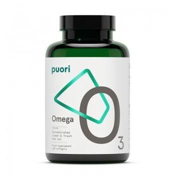 Puori O3 - Omega 3 Ulei de peste concentrat (120 capsule), Puori