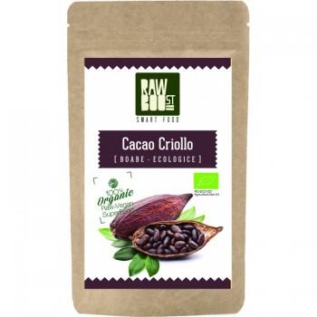 Cacao Criollo boabe (250 gr), RawBoost