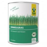 Iarba de grau spelta bio pudra (75 grame), Raab Vitalfood