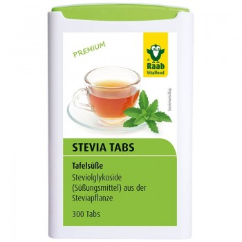 Stevia tablete premium (300 buc), Raab Vitalfood
