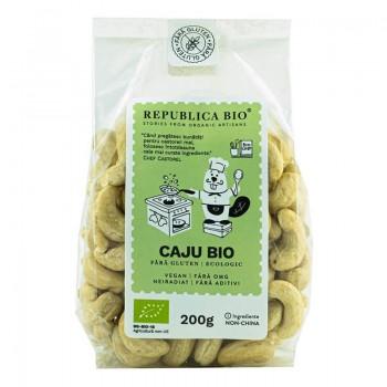 Caju fara gluten (200 grame), Republica Bio