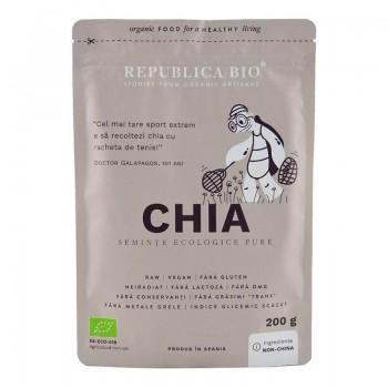 Chia seminte ecologice pure (200 grame), Republica Bio