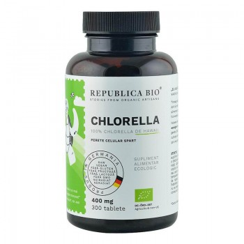 Chlorella bio de Hawaii (300 tablete), Republica Bio