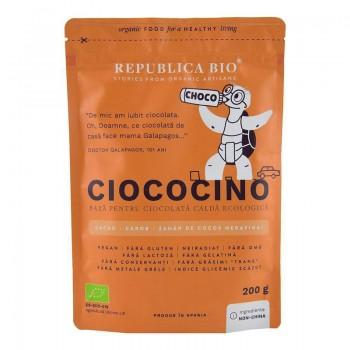 Ciococino baza pentru ciocolata calda ecologica (200 grame), Republica Bio