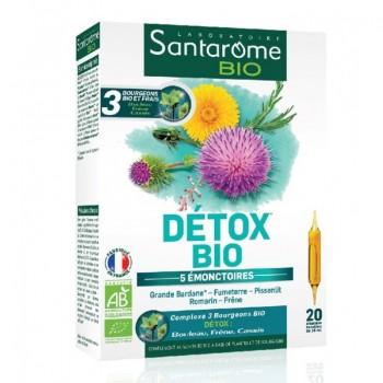 Detox Bio Santarome (20 fiole buvabile), Santarome