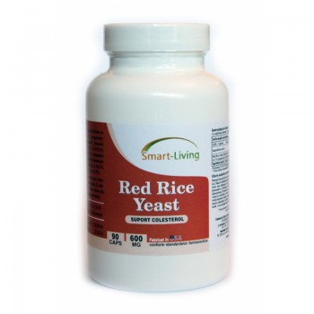 Red Rice Yeast 600 mg (90 capsule), Smart Living