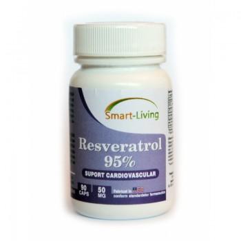 Resveratrol 95% (30 capsule), Smart Living