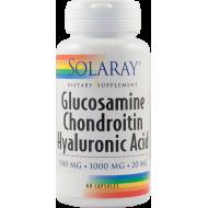Glucosamine Chondroitin Hyaluronic Acid (60 capsule)