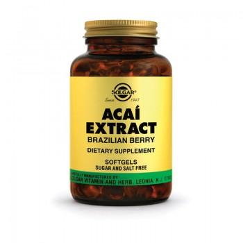 Acai extract (60 capsule), Solgar