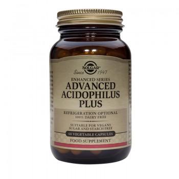 Advanced Acidophilus Plus (60 capsule), Solgar