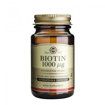 Biotin 1000mcg (50 capsule), Solgar