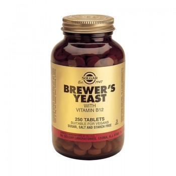 Brewers Yeast 500mg (250 tablete), Solgar