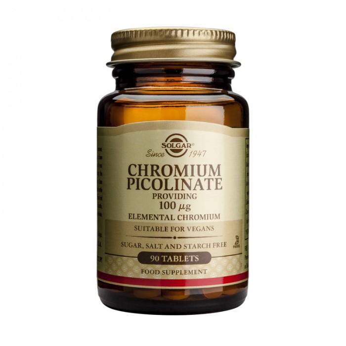 Chromium Picolinate 100mg (90 tablete)