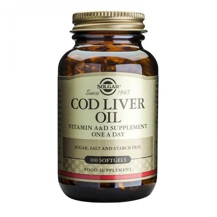 Cod Liver Oil (100capsule moi)