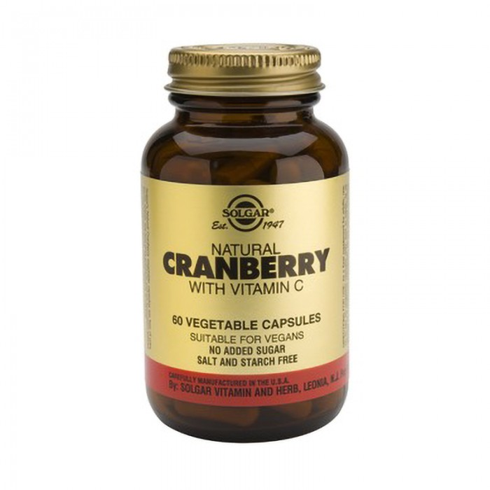 Cranberry Extract with Vit. C (60 capsule)