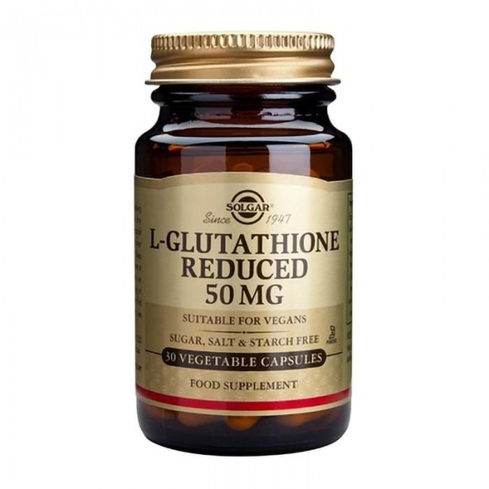 L-Glutathione 50mg (30 capule), Solgar