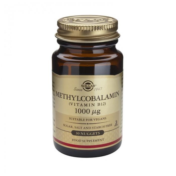Methylcobalamin  (Vitamin B-12) 1000g (30 tablete)