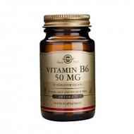 Vitamin B-6 50mg (100 tablete), Solgar