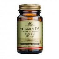 Vitamin D3 600IU (60 capsule), Solgar