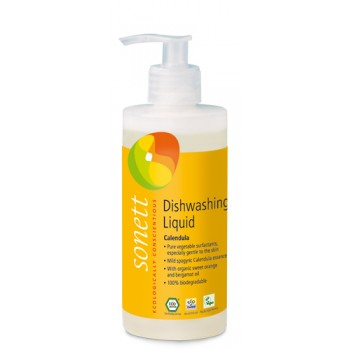 Detergent ecologic pentru spalat vase - galbenele (300 ml)