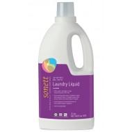 Detergent ecologic lichid pentru rufe albe si colorate cu lavanda 2L