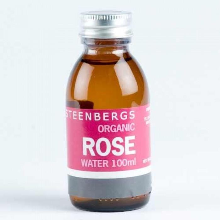 Apa de trandafiri bio (100 ml)