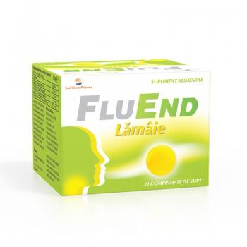 FluEnd Lamaie (20 comprimate), Sun Wave Pharma