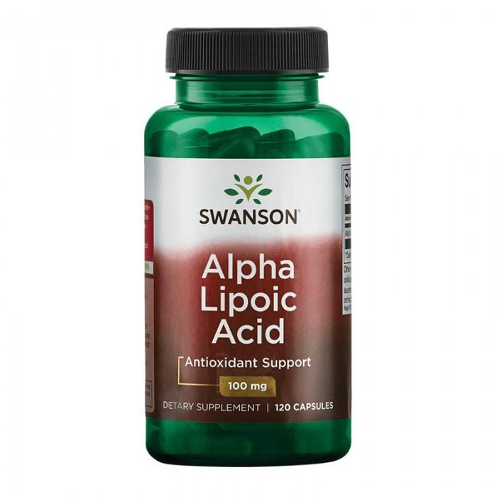 Acid Alfa-Lipoic 100 mg (120 capsule), Swanson