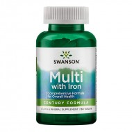Multivitamine cu minerale Century (130 comprimate), Swanson