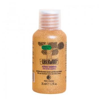 Sampon Hair Repair pentru par normal sau deteriorat - Travel (35 ml), Uberwood