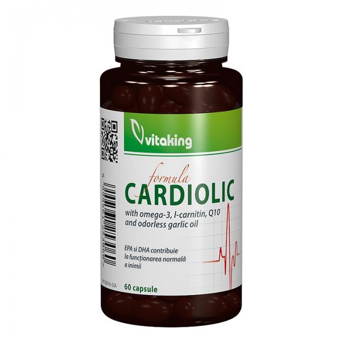 Complex Cardiolic pentru inima (60 capsule), Vitaking