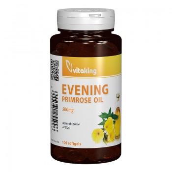 Ulei de Primula 500 mg Evening Primrose Oil (100 capsule), Vitaking