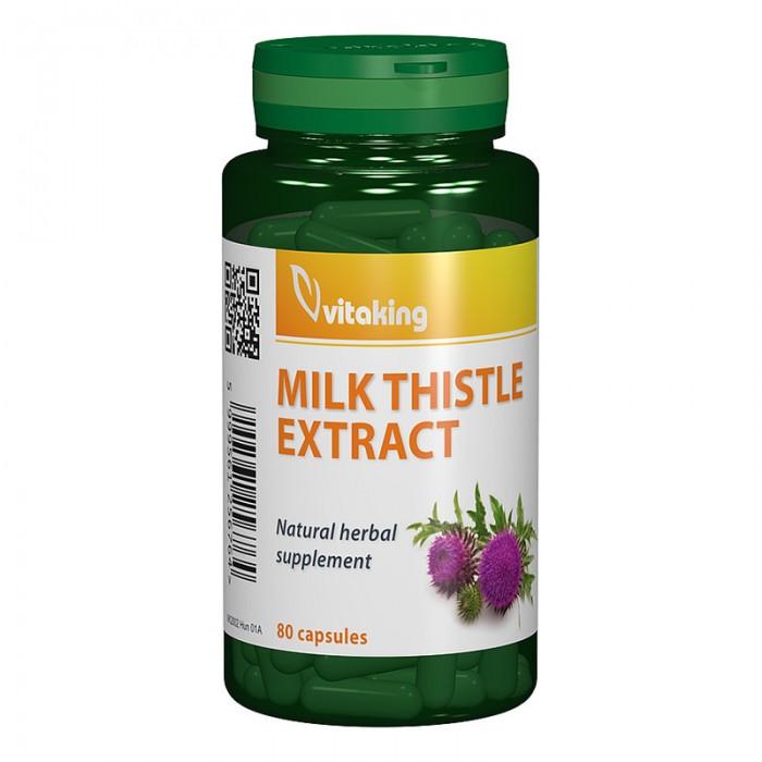 Extract de Armurariu (Silimarina) 500 mg (80 capsule), Vitaking